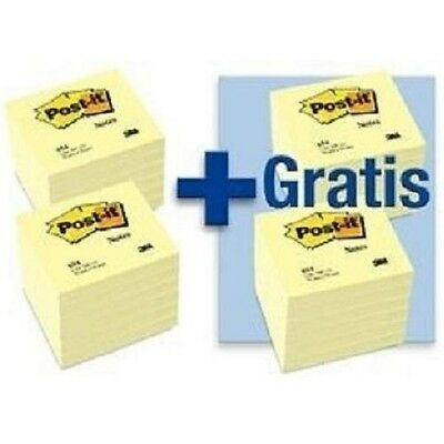 3M Post-it Notes Haftnotizen, 76x76 mm, 24 Blöcke mit je 100 Blatt, Haftzettel
