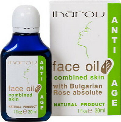 FACE OIL for MIXED SKIN with Rose, Jojoba, Lavender,Grape seed,Cedar 55ml IKAROV