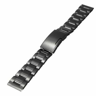 New 22mm Stainless steel Metal Watch Band Strap for LG G watch R W110 W100 W150