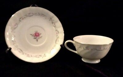 Fine China of Japan Royal Swirl Cup & Saucer Tea Coffee Collectable Kitchen Ware