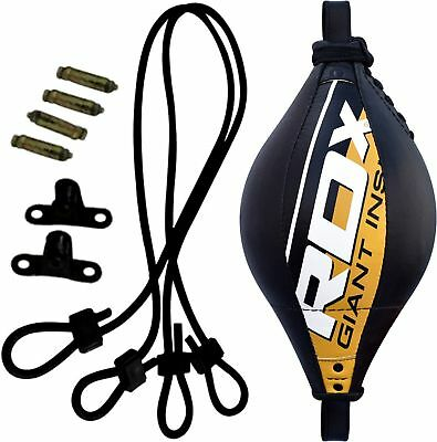 RDX Boxing Speed Ball Floor to Ceiling Double End MMA Training Punching Exercise