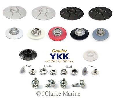 YKK Snad fastener self adhesive 40mm & 25mm domed base stud awning canvas canopy