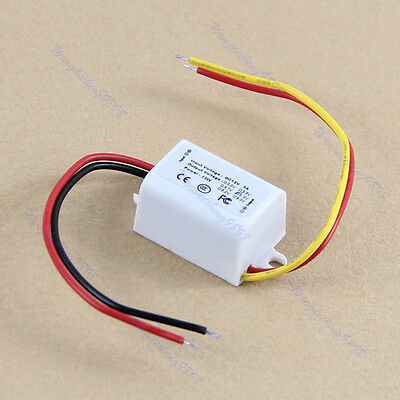 1pc New Waterproof DC Converter 12V Step Down to 5V 3A 15W Power Supply Module