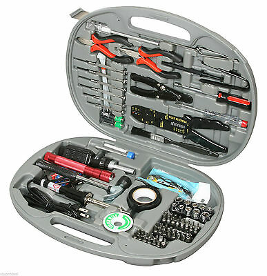 Rosewill 146 Piece Network Service Computer PC Repair Tool Kit ✔NEW✔