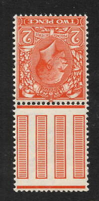 GV - SG368wi. 2d orange. Inverted watermark. Fine and fresh unmounted mint.