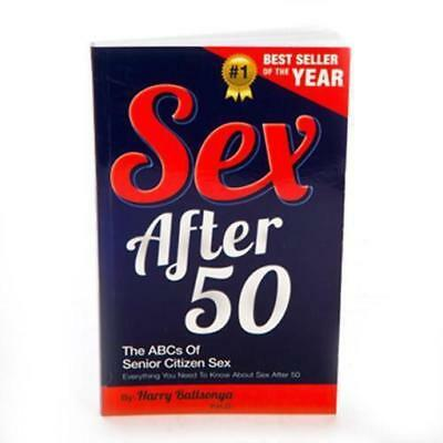 Sex After 40 Novelty Book - Everything You Need to Know | old 50 60 funny gag gi