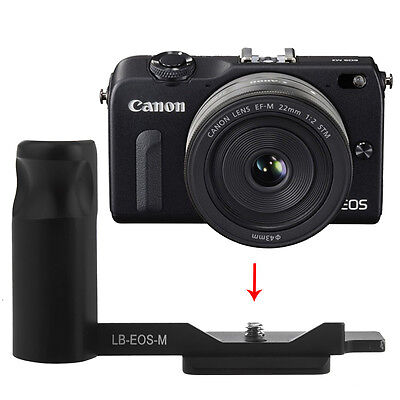 Neewer Camera Hand Grip f Canon EOS M Quick Release L-Plate Arca Swiss Fit ND#17