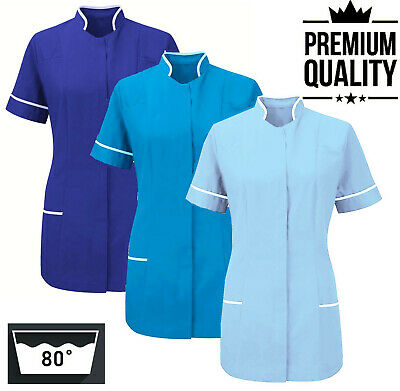 Womens Nurses Healthcare Tunic Uniform Hospitality Maid Nurse Carer Therapist