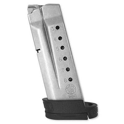 Smith & Wesson New Factory Shield 9 9mm 8 Round Extended Magazine