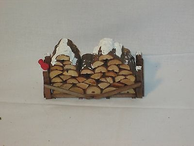 Department 56 Accessory Wooden Log Pile 52665