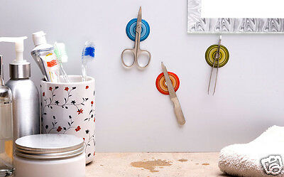 MAGNETIC STICKERS Holders Ofiice Home Kitchen Bath Funky Gift Peleg Design