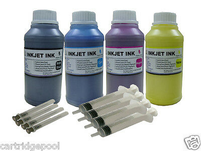 4x250ml water-base Coat Pigment inkjet ink for any textile fabric printing