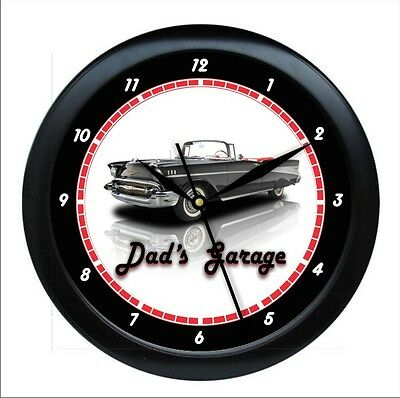 "Personalized  Customize  Car Classic 10"" Wall Clock Garage Work Shop Gift"