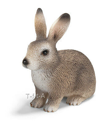 FREE SHIPPING | Schleich 14631 Wild Rabbit Toy Model - New in Package