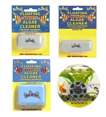 Fish R Fun Mag-Float Magnetic Magnet Glass  Cleaner Fish Tank Aquarium