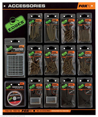 Fox Edges Terminal Tackle / Plastic End Line Accessories