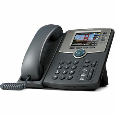 NEW Cisco SPA525G2  IP VoIP Telephone PoE w/Color Display ,  1 Year Warranty