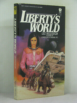 1st, signed by author, Liberty's World by Lee Killough (1985)