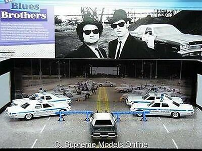 The Blues Brothers 5 Car Set Jake & Elwood Film Boxed Example Diorama T3412Z(=)