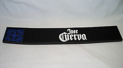 "Jose Cuervo - Promo 21"" Rubber Bar Rail Spill Mat *new*"