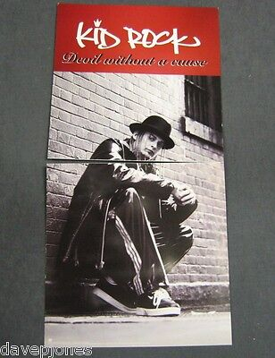 """KID ROCK Devil Without A Cause 2 USA 1998 Promo Flats / Posters 12"""" X 12"""" vers 2"""