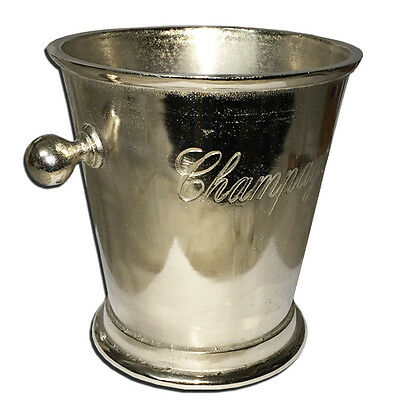 Large Aluminium Champagne Ice Bucket Handles Cooler Drink Party Punch Beer Wine