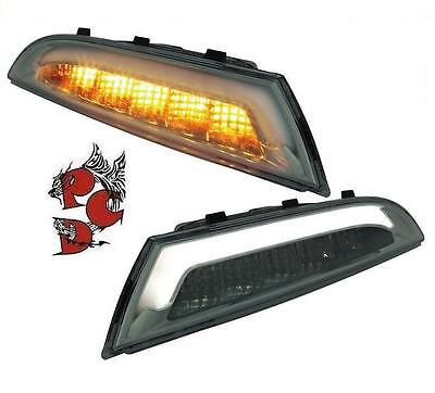 Satz Led Frontblinker + Standlicht Vw Scirocco 3 Iii 08+ Smoke Links Rechts Set