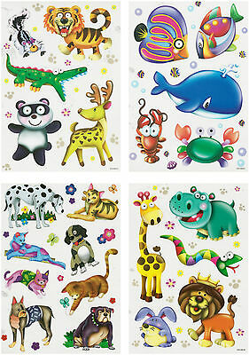 Window Picture Sticker Decor Wall Animals Children