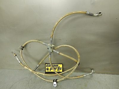 Can Am Outlander MAX 400 500 650 800 Front Brake Lines Hose Assembly 705600421