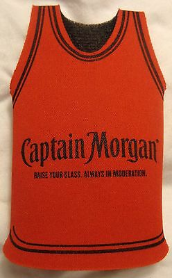 Captain Morgan Spiced Rum - Bottle Coozie - Coozy - Koozy - Tank Top/Jersey Look