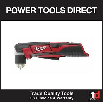 New Milwaukee M12 12V Cordless C12Rad 10Mm Right Angle Drill Driver Bare Tool