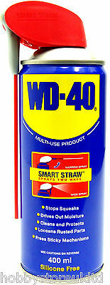 WD 40 Aerosol Spray Can WD-40 Oil Lubricant Rust Corrosion Protection Lube 400ml