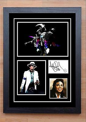 Michael Jackson Signed / Autographed And Framed Print