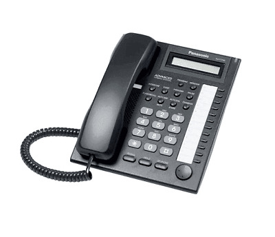 Panasonic KX-T7730 Telephone Black I KX-T7730B I Brand New