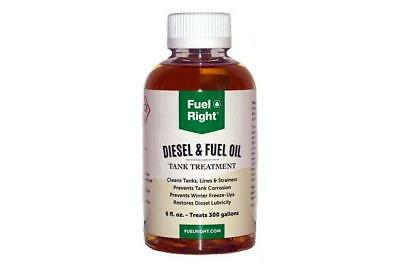 FUEL RIGHT FR-EP-06 6oz BOTTLE Fuel Right EP Diesel and Fuel Oil Treatment