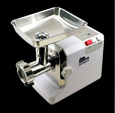 New 3000W Electric Professional Meat Cutter Grinder 3.4 HP Free Sausage Stuffer