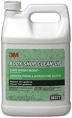 Body Shop Clean-Up Car Wash Soap 38377, 1 Gallon 3M-38377 Brand New!