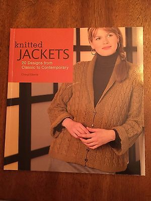 71582654bbad Knitted Jackets  20 Designs from Classic to Contemporary knitting pattern  book