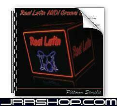 Platinum Samples Real Latin MIDI Groove Library eDelivery JRR Shop