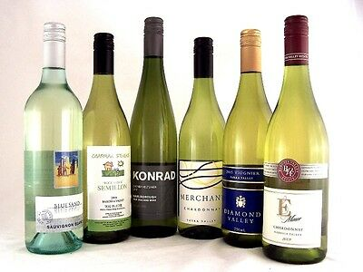 Mixed 6 Pack 2005 - 2012 Mixed White Wines FREE SHIP Isle of Wine