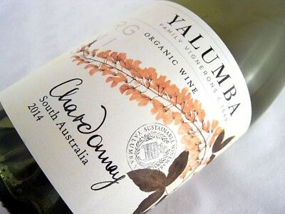 2014 YALUMBA Organic & Vegan Chardonnay Isle of Wine