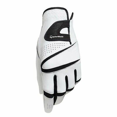 New TaylorMade 2015 Stratus Sport Leather White Golf Glove - Pick Size