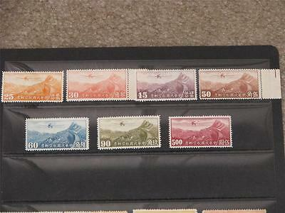 China, Miscellaneous Airmail Lot mostly unused