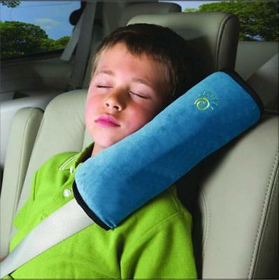 Auto Car Baby Seat Belt Cover Cushion Shoulder Harness Pad Soft Pillow Safety JA