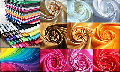 """NEW!! Polyester Lining Fabric China Silk  60"""" Wide Habotai Sold By The Yard"""