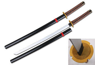 Japanese Anime Inuyasha Meidou Tessaiga Cosplay Props Weapon Wooden Sword 39""