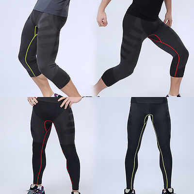 Men NEW Compression Base Layers Pant/Shorts Running Sports Tight Leggings Armour