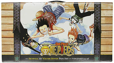 One Piece Skypiea and Water Seven Box Set 2 Volumes 24-46