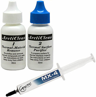 Arctic Cooling MX-4 Thermal Compound 4g Tube & ArctiClean