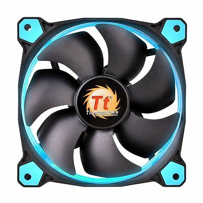 Thermaltake Riing 14 Led 140mm PC Case Cooling Fan High Pressure 14CM - Blue